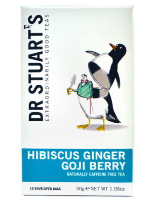 Hibiscus, Ginger and Goji Berry Tea by Dr.Stuart - Camilestea