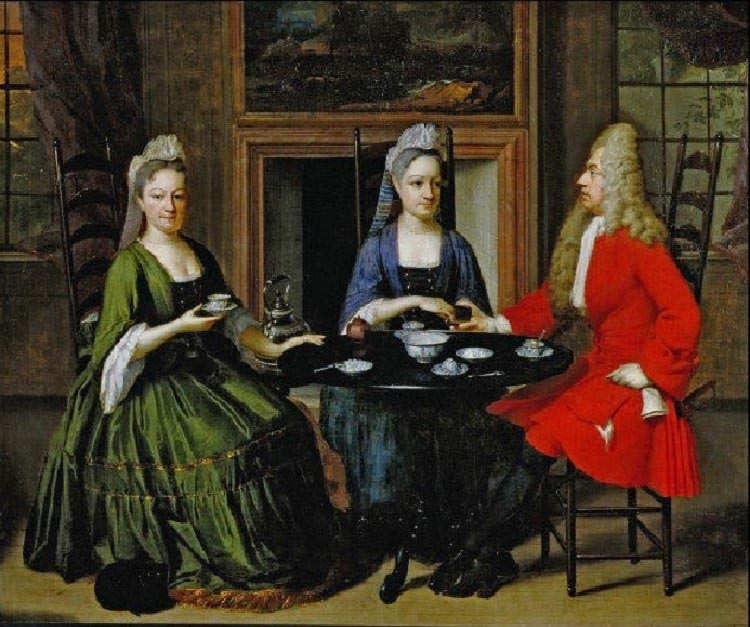 History of Teas in Britain Camillestea