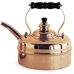 Simplex Chrome Tea Kettle - Camilestea