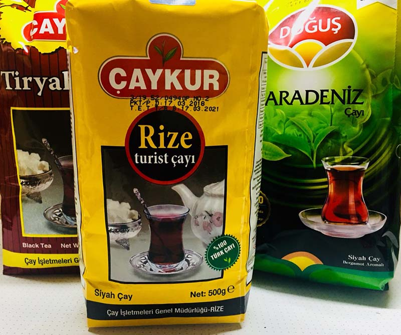 Turkey Tea Camillestea