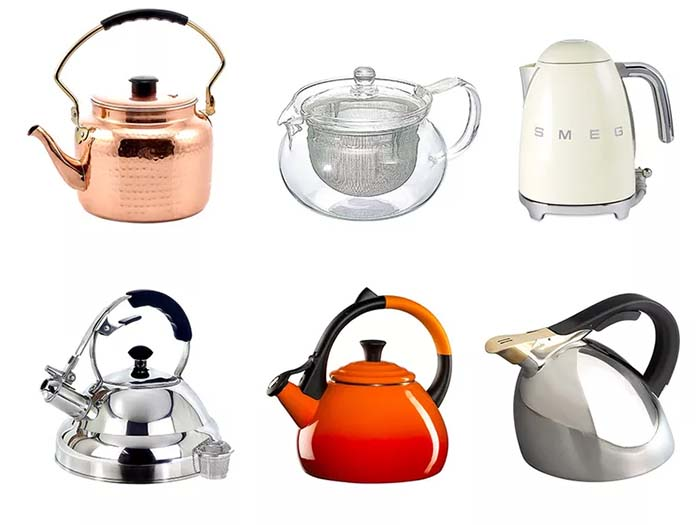 Types Of Kettle Camillestea